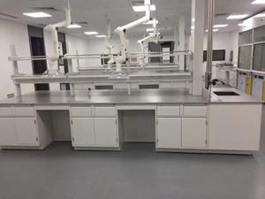 环保行业实验室家具案例