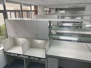 食品行业实验室家具案例